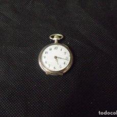 Relojes de bolsillo: ANTIGUO RELOJ BOLSILLO EN PLATA AÑO 1900 -- LOTE 259-20. Lote 257775610