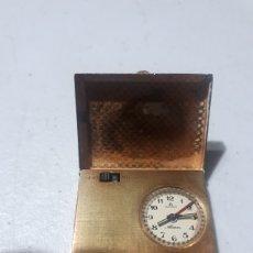 Relojes de bolsillo: CURIOSO Y RARO RELOJ BOLSILLO ALARM BUCHERER ROLEX CARGA MANUAL Y A PILA LEER DESCRIPCION. Lote 258032710