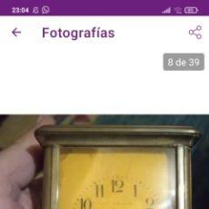 Relógios de bolso: MUY ANTIGUO RELOJ DE CARRUAJE DILIGENCIA DE VIAJE. Lote 258805370