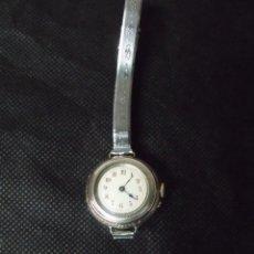 Relojes de bolsillo: PRECIOSO RELOJ BOLSILLO ART-DECO EN PLATA PARA RELOJ PULSERA-MUY BONITO-AÑO 1900-LOTE 259-23. Lote 258844710