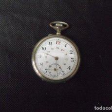 Orologi da taschino: ¡¡GRAN OFERTA!!!MUY BONITO RELOJ BOLSILLO EN ARGENTAN-AÑO 1900-FUNCIONA PERFECTAMENTE-LOTE 259-24. Lote 258965730