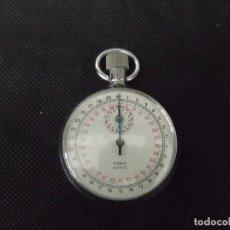 Relojes de bolsillo: ANTIGUO CRONOMETRO EN ACER0-AÑO 1920-LOTE 259-24. Lote 258966820