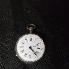 Relojes de bolsillo: ANTIGUO RELOJ BOLSILLO EN PLATA AÑO 1880 - LOTE 259-24. Lote 258967170