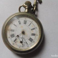 Relojes de bolsillo: RELOJ DE BOLSILLO ANTIGUO - VER FOTOS - FUNCIONA. Lote 255590865