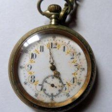 Relojes de bolsillo: RELOJ DE BOLSILLO - VINTAGE - VER FOTOS. Lote 257277775