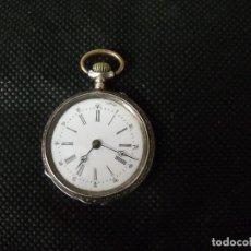 Relojes de bolsillo: ANTIGUO RELOJ BOLSILLO EN PLATA AÑO 1880 - FUNCIONA- LOTE 259-25. Lote 259848610