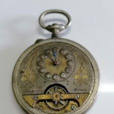 Relógios de bolso: RELOJ DE BOLSILLO 8 JOURS ANCRE. Lote 259913720