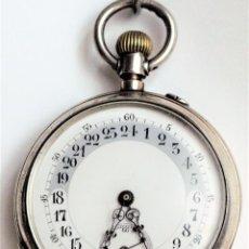 Relógios de bolso: RELOJ DE BOLSILLO ANTIGUO 24 HORAS.. Lote 260315880