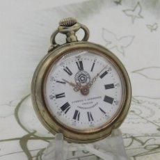 Relojes de bolsillo: CUERVO Y SOBRINOS-ROSKOPF-RELOJ DE BOLSILLO-CIRCA 1920/1930-FUNCIONANDO. Lote 260392475