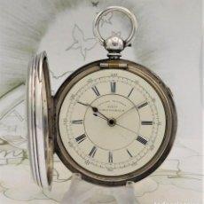 Relojes de bolsillo: CENTRE SECONS CRONOGRAPH-CIRCA 1892-INGLÉS-FUNCIONANDO. Lote 260427960