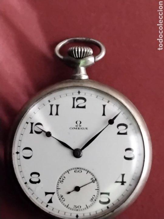 RELOJ OMEGA DE BOLSILLO (Relojes - Bolsillo Carga Manual)