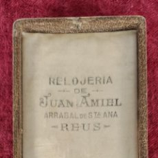 Relojes de bolsillo: RELOJ DE BOLSILLO OSIRIS. CAJA DE PLATA 800. ESTUCHE ORIGINAL. CIRCA 1930.. Lote 261331620