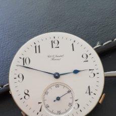 Relojes de bolsillo: MAQUINARIA, MOVIMIENTO RELOJ BOLSILLO REPETICIÓN MINUTOS PERFECTO ESTADO Y FUNCIONAMIENTO.. Lote 261558595