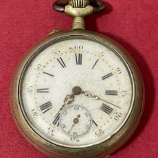 Relojes de bolsillo: ANTIGUO RELOJ DE BOLSILLO. S.XIX. Lote 261792170