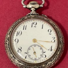 Relojes de bolsillo: ANTIGUO RELOJ DE BOLSILLO, CON MAGNÍFICA CAJA.. Lote 261793225