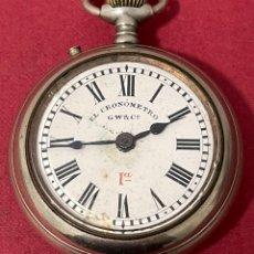 Relojes de bolsillo: MAGNÍFICO RELOJ DE BOLSILLO, PARA DESPIECE.. Lote 261793510