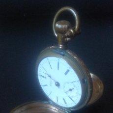 Relógios de bolso: RELOJ ANTIGUO DE BOLSILLO, MARCA NONPAREIL. 3 TAPAS. Lote 261836800