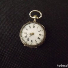 Relojes de bolsillo: ANTIGUO RELOJ BOLSILLO EN PLATA AÑO 1880 - LOTE 259-26. Lote 261860370