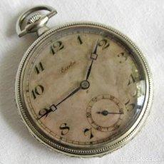 Relojes de bolsillo: RELOJ DE BOLSILLO CARGA MANUAL ECCELSO DEPOSÉ ARGENTAN. Lote 262247065