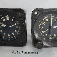 Relojes de bolsillo: LOTE DE DOS RELOJES CRONOGRAFOS AVIACIÓN MILITAR A-13 PHANTOM. Lote 262294770