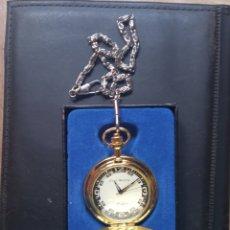Relojes de bolsillo: RELOJ DE BOLSILLO COMPLETO FUNCIONA.. Lote 262637930