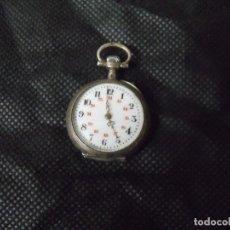 Relojes de bolsillo: ANTIGUO RELOJ BOLSILLO EN PLATA AÑO 1880 - FUNCIONA- LOTE 259-26. Lote 262759585