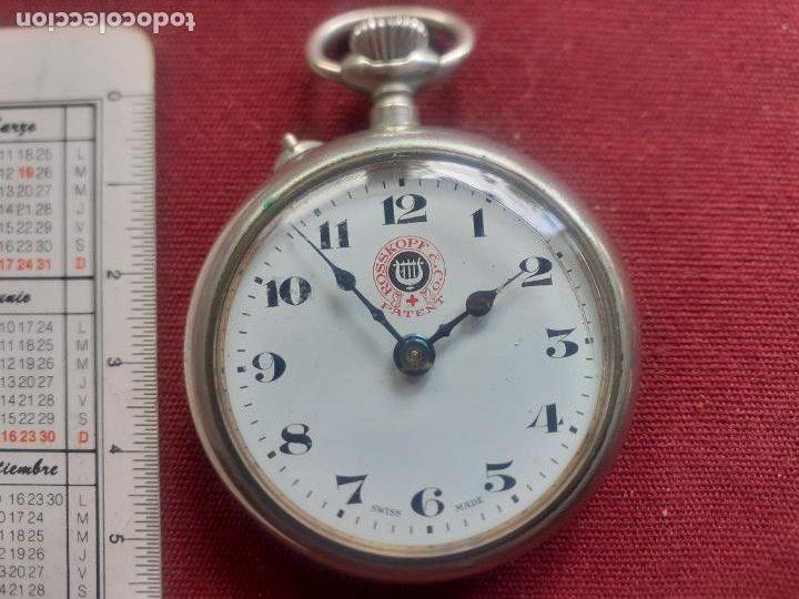ANTIGUO RELOJ ROSKOPF PATENT. EN FUNCIONAMIENTO (Relojes - Bolsillo Carga Manual)