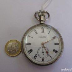 Relojes de bolsillo: MUY ANTIGUO, SOBRE 1900 Y BONITO RELOJ BOLSILLO, WOLF BROS CAPETOWN BUEN ESTADO FUNCIONANDO. Lote 263134900