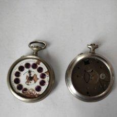 Relógios de bolso: LOTE DOS RELOJES DE BOLSILLO PARA PIEZAS ESTER , ROSKOPF. Lote 264502184