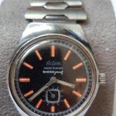 Relojes de bolsillo: RELOJ ACTION MECÁNICO FUNCIONANDO REVISADO. Lote 264816254