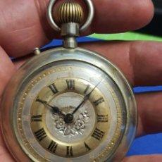 Relojes de bolsillo: RELOJ DE BOLSILLO FUNCIONANDO. 55 MM.. Lote 265994768