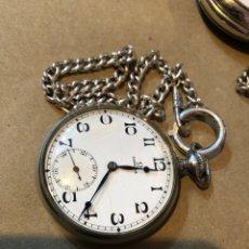 Orologi da taschino: RELOJ DE BOLSILLO OMEGA DE NIQUEL , FUNCIONANDO. Lote 266862404
