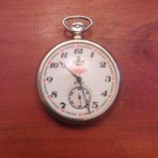 Relógios de bolso: RELOJ DE BOLSILLO RUSO,FERROCARRIL ROHTAR (MOLNIJA 3602 DE 18 RUBIS DE LOS AÑOS 70). Lote 266936789
