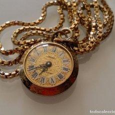 Relojes de bolsillo: RELOJ DE BOLSILLO DE DAMA TRUXA DE 17 JEWELS.. Lote 266951114