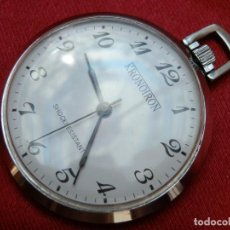Orologi da taschino: 50- RELOJ DE BOLSILLO KRONOTRON, CARGA MANUAL, REPARAR, CAJA SIN CORONA 43 MM. 40 GR.. Lote 267277774