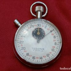 Orologi da taschino: 52- CRONOMETRO TESSINA, CARGA MANUAL, FUNCIONANDO, CAJA S/C 53,5 MM. ESFERA 47 MM. 105 GR.. Lote 267280134