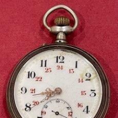 Relojes de bolsillo: ANTIGUO RELOJ DE BOLSILLO, DE PLATA. S.XIX. Lote 267453629