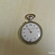 Relojes de bolsillo: RELOJ DE BOLSILLO FAMOSO PATENT 1ª PARA PIEZAS. Lote 267521089