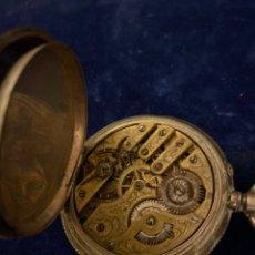 Relojes de bolsillo: RELOJ DE BOLSILLO DE PLATA BOANAND GENEVE DE 1880 PARA RESTAURAR. Lote 267608294