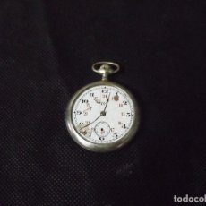 Relojes de bolsillo: ANTIGUO RELOJ BOLSILLO EN PLATA PUNZONADA AÑO 1880 - FUNCIONA- LOTE 259-30. Lote 267787994