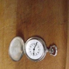Relojes de bolsillo: RARISIMO RELOJ BOLSILLO DE COLECCIONISTA-SAVONETA PARA CIEGOS-AÑOS 50-60-LOTE 259-31-FUNCIONA. Lote 268728764