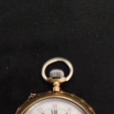Relojes de bolsillo: CHEMIN DE FER, RELOJ DE BOLSILLO FERROCARRIL, PRECIOSO Y FUNCIONANDO.. Lote 268835499