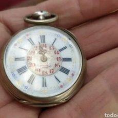 Relojes de bolsillo: PRECIOSO RELOJ ANTIGUO DE BOLSILLO (PLATA). Lote 269168628