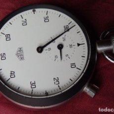 Relojes de bolsillo: CRONOMETRO CENTESIMAL HEUER LEONIDAS CAL. 7700 EN MUY BUEN ESTADO. Lote 269202728
