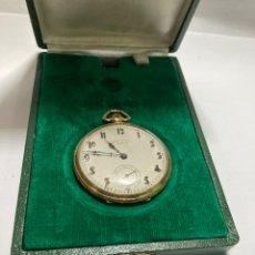 Relojes de bolsillo: RELOJ DE BOLSILLO CHRONOMÈTRE ALHEUR 1900 FUNCIONANDO CAJA CHAPADA ORO. Lote 269229133