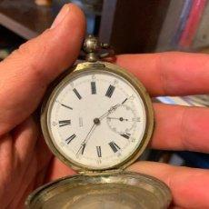 Relojes de bolsillo: RELOJ BOLSILLO TOBÍAS GENEVE EN PLATA. Lote 269277123