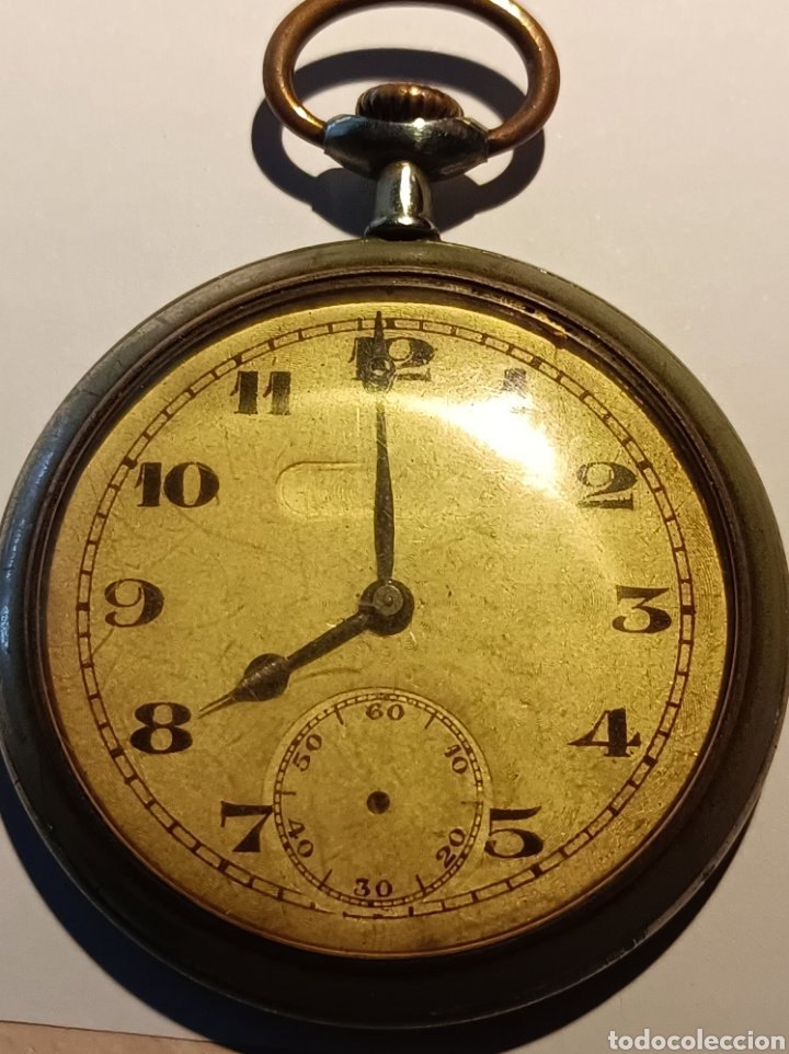 RELOJ DE BOLSILLO MAQUINARIA CEPOSE (Relojes - Bolsillo Carga Manual)