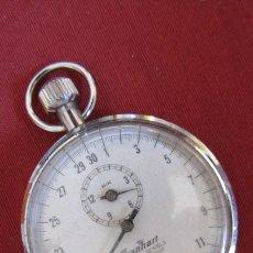 Relojes de bolsillo: ANTIGUO CRONÓMETRO MECÁNICO A CUERDA MANUAL DE PRECISIÓN ALEMÁN HANHART AÑOS 1960 1970 Y FUNCIONA. Lote 274676578
