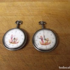 Relojes de bolsillo: 2 RELOJES DE BOLSILLO DEL EJERCITO O GENDARMERIA-LOTE 259-32. Lote 275110583