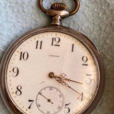 Relojes de bolsillo: RELOJ DE BOLSILLO OMEGA EN PLATA .800 PERFECTO. Lote 275184853